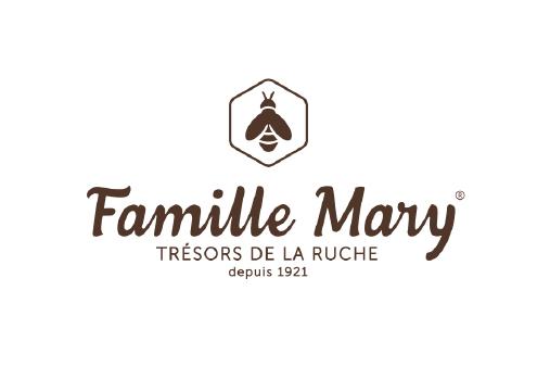 Intégration de Famille Mary, entreprise d'apiculture créée en 1921, qui développe et commercialise des miels, compléments alimentaires bio et naturels, produits gourmands, cosmétiques bio, tous à base de produits de la ruche.